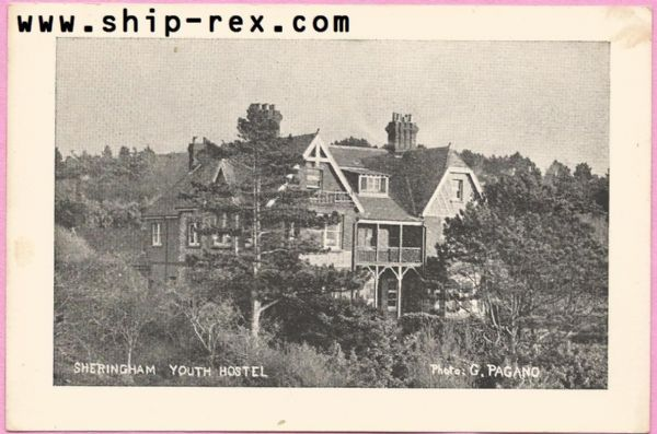 Sheringham Youth Hostel - plain back card